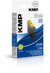 KMP E132 Tintenpatrone für Epson T1304 10,1ml gelb