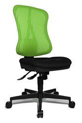 Topstar Head Point SY ergonomische bureaustoel, bureaustoel, verzonken zitting (in hoogte verstelbaar), stoffen bekleding, groen/zwart