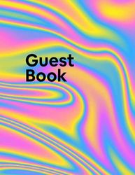 Airbnb Guestbook: Guest Reviews For Airbnb, Homeaway, Bookings, Hotels, Cafe, B&b, Motel - Feedback & Reviews From Guests, 200 Pages.: Great Gift Idea ... Present For Owner, Hotels, B&b, Say Thanks