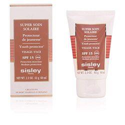 Sisley Super Soin Solaire Visage/Face SPF 15 unisex, Sonnenpflege 60 ml, 1er Pack (1 x 0.051 kg)