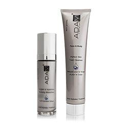 ADAM REVOLUTION artikel voor gezicht en lichaam 2-delig Set Oxygen en hyaluronic perfecte huid voor mannen.