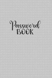 Password Book: Password Log Book and Internet Password Organizer with Tabs | Password Username Book Keeper