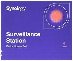 Synology Camera License Packs x 4