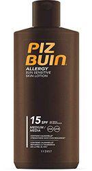 Piz Buin Allergy Lotion SPF 15, per stuk verpakt (1 x 200 ml)