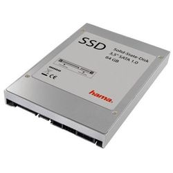 Hama High Speed Solid State Disk Flash harde schijf, 64 GB, 3,5 inch, SATA