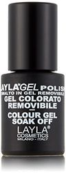 Layla Cosmetics Laylagel Polish Color, purple rain, 1er pack (1 x 0.01 L)