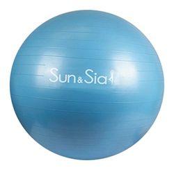 Sun&Sia YB55-BL Fitnessbal, uniseks, volwassenen, blauw