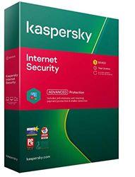 Kaspersky Internet Security 2021 | 1 Apparaat | 1 Jaar | Antivirus en Secure VPN inbegrepen | PC/Mac/Android | Activeringscode per Post