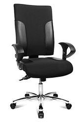 Topstar TF29US100 bureaustoel Two 20 Deluxe met in hoogte verstelbare armleuningen U2 OPA, stoffen bekleding, zwart