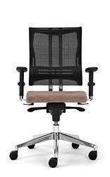 Nowy Styl Bürostuhl Net-Motion beige ohne Kopfstütze, One Size
