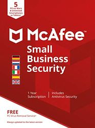 McAfee Small Business Security 2021 | Uitgave Europa | 5 Apparaten | PC/Mac/Smartphone/Tablet | Activeringscode per post