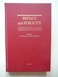 Privacy and Publicity: Vol 2