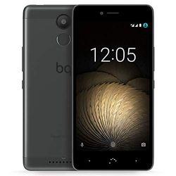"""BQ C000242 Aquaris U Plus Smartphone""""32+3GB"""" (16 MP camera met 5 lenzen, LiPo-batterij met 3080 mAh, Android 7.1.1 Nougat) grafiet zwart/grijs"""