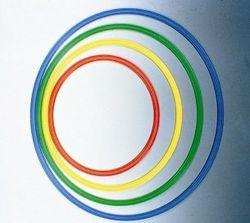Jakobs 5101341 Fahrradreif, 50 cm, Rot