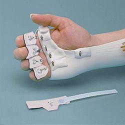 Rolyan Wrap-On vingerhaken, 5 stuks, voor alle maten, zonder latex, ideaal voor algemene handklachten