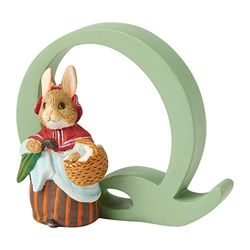Enesco Q Mrs Rabbit, Resin, Bunt, 3.5 x 0.8 x 0.7 cm