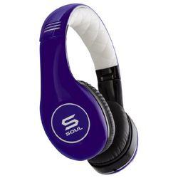 Soul by Ludacris SL150BU Pro Hi-Definition on-ear hoofdtelefoon blauw