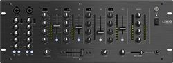IMG STAGELINE MPX-44/SW 6-Kanal-Stereo-DJ-Mischpult