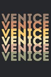 """Venice Journal: Travel Notebook 