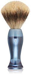 eShave Fine Badger Haarborstel in blauw
