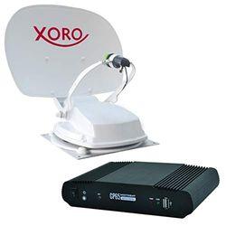 Xoro MTA 55-BT 55 cm volautomatische satellietantenne met regeleenheid voor caravan, caravan, camping