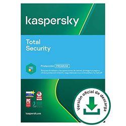 Kaspersky Total Security 2021   2 Dispositivos   1 Año   PC / Mac / Android   Código de activación vía correo electrónico