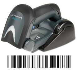 Datalogic Gryphon I GBT4130, BT, 1D, Multi-IF, Kit (USB), schwarz