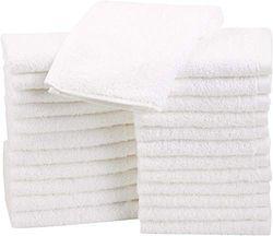 Dudu N Girlie Terry - Pañales de algodón para bebé, 6 unidades