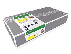 Astar AS13734 Toner kompatibel zu LEXMARK C734 C734A1YG, 6000 Seiten, gelb