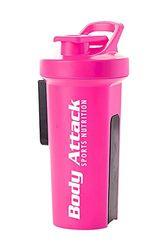 Body Attack Sports Nutrition GA Shaker, roze, 1000 ml