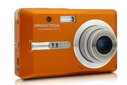 Praktica Luxmedia 8213 digitale camera (8 megapixels, 3-voudig opt. zoom, 6,4 cm (2,5 inch) display).