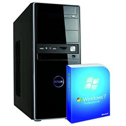 Memory PC AZ Business Leader 10342 Desktop-PC (Intel Core i3 4160, 3,6GHz, 4GB RAM, 128GB HDD, Intel HD 4400, Win 7 Pro)