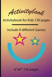 Activitybook: Activitybook for Kids 130 pages, include 9 different Games by Simple Live 1098