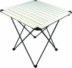 Highlander klaptafel, aluminium, gemakkelijk inklapbaar, natuurlijke afwerking