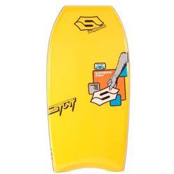 Sniper Bodyboard Stunt 41'', geel/wit, 104x52x5,7 cm, 20559