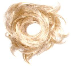 Love Hair Extensions Tornado kunsthaarelastiek Sunlight Blonde / puur blond