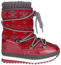 Schreuders Sport Wintergrip voor kinderen Jacquard Sneeuw Jogger Boot