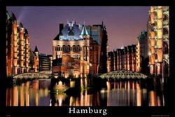 empireposter - Duitse steden - Hamburg - Grootte (cm), ca. 91,5x61 - Poster, NIEUW