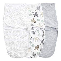 aden + anais™ essentials Easy Swaddle™ Wickel-Pucktuch 1,0 TOG 3er-Pack Toile (4-6 Monate)