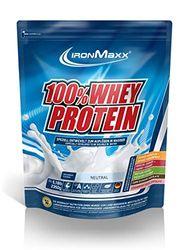IronMaxx Ironmaxx Sabor Neutral 100% Polvo Proteína De Suero 2.35 Kg En Bolsa 2350 g