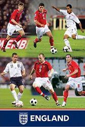 1art1 43503 voetbal - Engeland FA, montageposter 91 x 61 cm