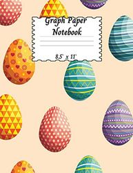 Graph Paper Notebook: Graph Paper For Teens Large (Graph Paper Notebook 5 x 5 Square Per Inch) | Math Squared Notebook Graph Paper Notebook for Teens, Kids, Boys and Girls with Amazing Easter Design