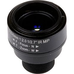 Axis 5801-651 Bewakingscamera-accessoires voor bewakingscamera-lens, universeel, zwart, 2,8-6 mm, AXIS F1015 Sensor Unit)