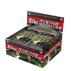 Topps NFL 2011 Rising Rookies Retail (24 Packungen)