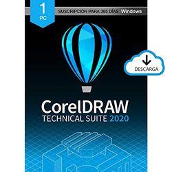 CorelDRAW Technical Suite 2020 | Subscription | 1 Dispositivo | PC | Código de activación PC enviado por email