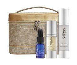 skinChemists Bag Set, vitamine en collageen Eye Serum, moisturiser, per stuk verpakt (1 x 3 stuks)