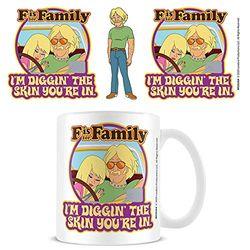 Pyramid International MG26364 F is for Family (Diggin the Skin your in) Coffee Mug Kaffeebecher, keramik