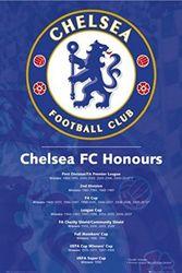 1art1 50087 voetbal - Chelsea FC, succes 2010 poster 91 x 61 cm