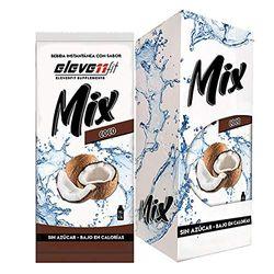 Eleven Fit Caja 12 Uds Mix Sabor Coco Sin Azúcar 100 g