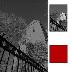 B+W Rode filter voor HSB bajonet